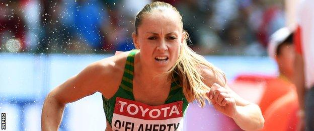 Kerry O'Flaherty has already secured an Olympic Games steeplechase spot