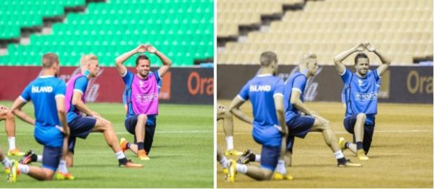 Man united news  football news  football transfer and rumours Gylfi Sigurdsson trains with Iceland