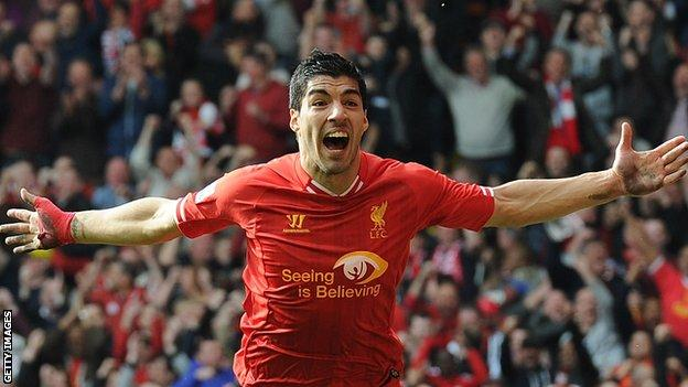 Former Liverpool striker Luis Suarez
