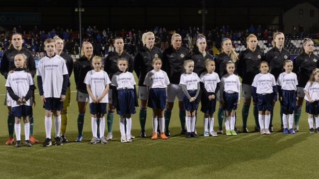 Euro 2021: NI women's players need games before qualifiers resume says manager Kenny Shiels