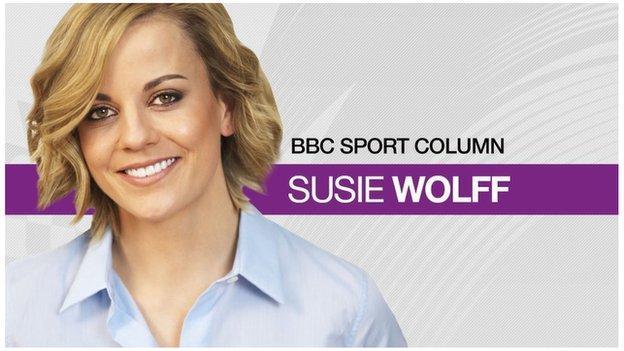 Ex-Williams test driver Susie Wolff