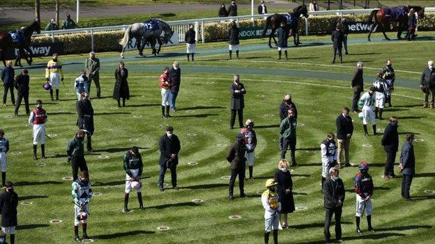 A two-minute silence was observed at the Merseyside track on Friday