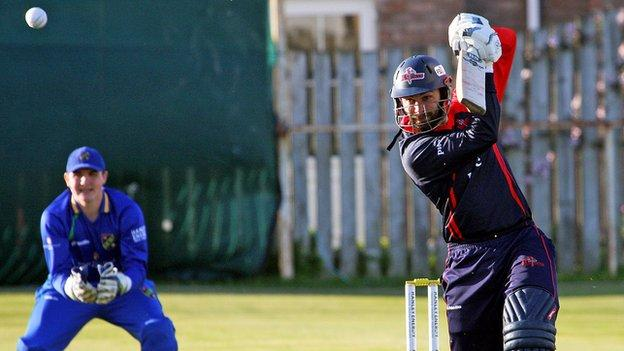 James Shannon hit 59 runs for Northern Knights in the Inter-Provincial draw on Thursday