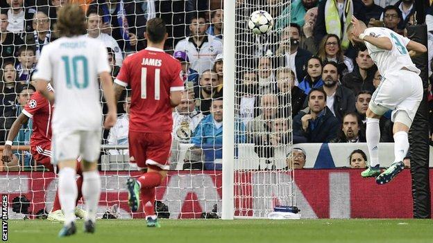 Real Madrid 2 2 Bayern Munich 4 3 On Aggregate Bbc Sport