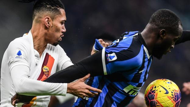 Inter Milan 0-0 Roma: Antonio Conte's side miss chance to move clear at top of Serie A thumbnail