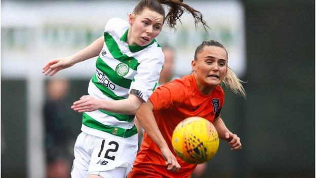 Glasgow City's Sam Kerr (right) is one of two uncapped players in the squad