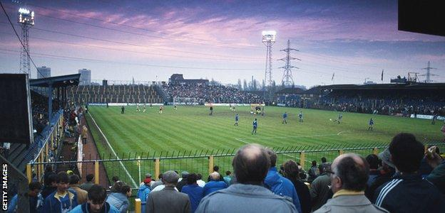 Plough Lane, home of Wimbledon FC