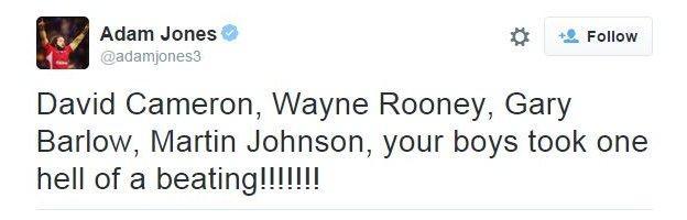 Adam Jones on Twitter
