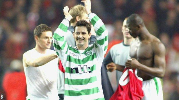 Dundee United manager Jackie McNamara was also a success at Celtic