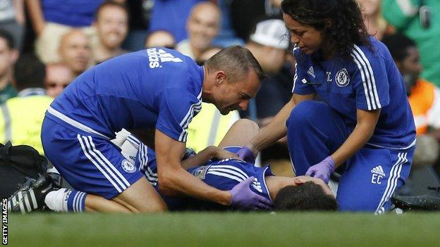 Eva Carneiro and Jon Fearn