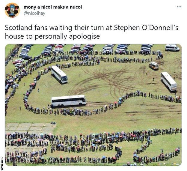 Scotland O'Donnell tweet