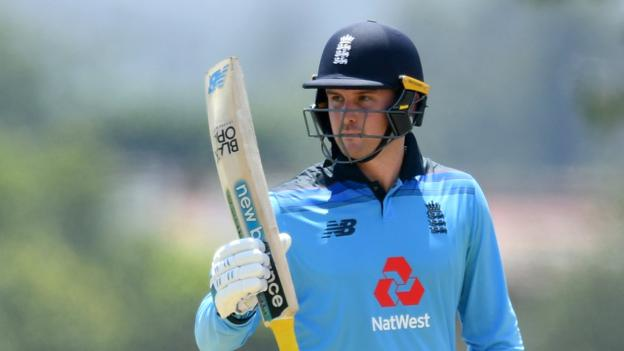 England in South Africa: Jason Roy hits century as England win warm-up by 77 runs thumbnail