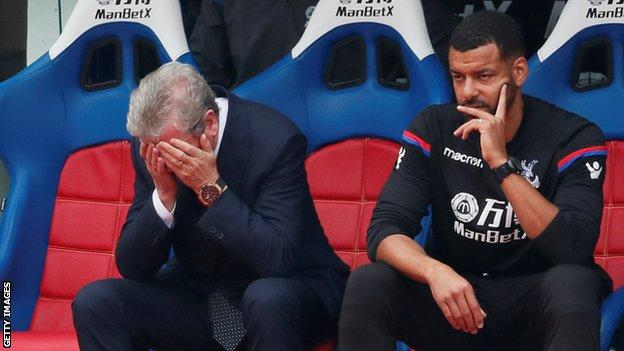 Hodgson admitted his side did not play well enough on his return to Selhurst Park