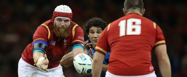 Jake Ball and Ken Owens were two of six Scarlets in the Wales World Cup squad