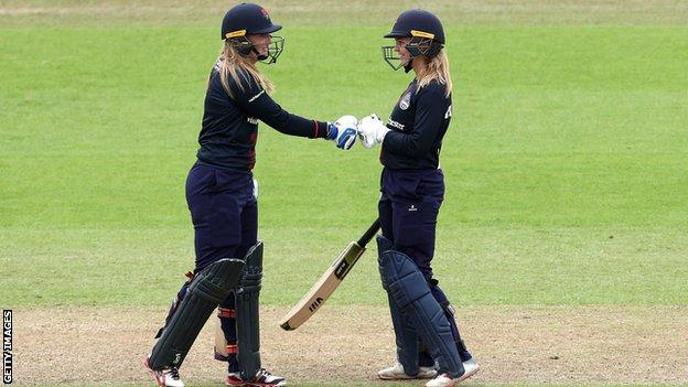 Sophie Ecclestone and Ellie Threlkeld.