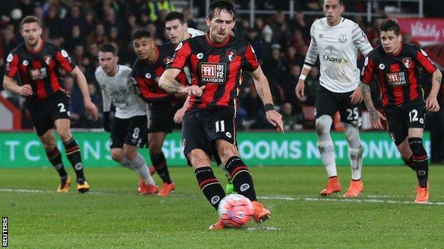 Bournemouth defender Charlie Daniels