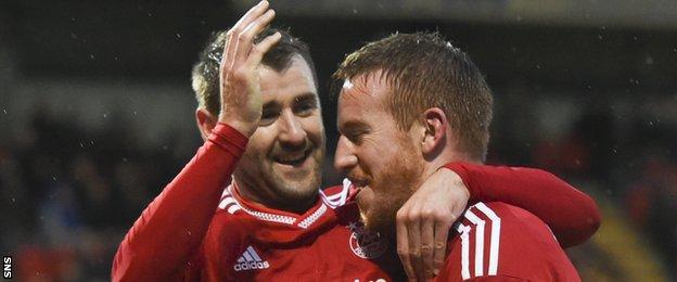 Niall McGinn and Adam Rooney