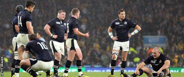 Scotland lose to Australia
