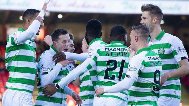 Aberdeen 1-2 Celtic: Ajer goal settles scrappy Pittodrie game thumbnail