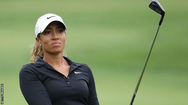 Cheyenne Woods finished joint 54th at the 2015 Ladies Scottish Open