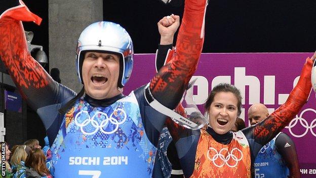 Tatyana Ivanova and Albert Demchenko