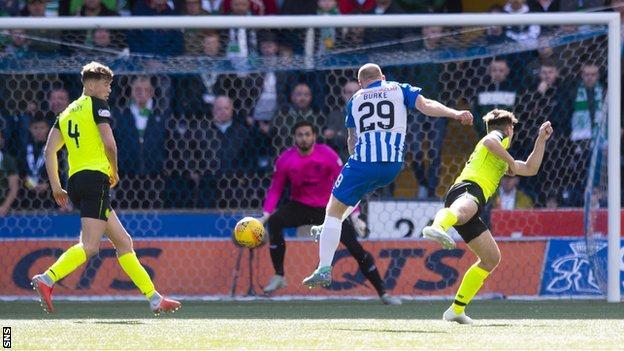 Chris Burke scores for Kilmarnock