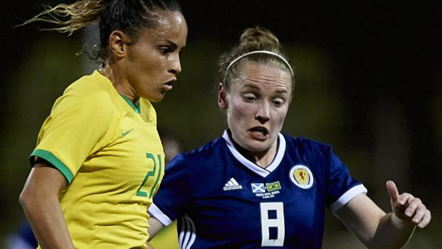 Scotland 1-0 Brazil: Shelley Kerr says win is World Cup boost thumbnail