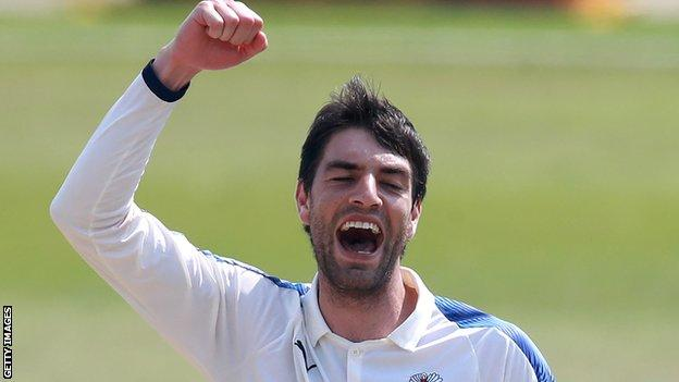 South African paceman Duanne Olivier