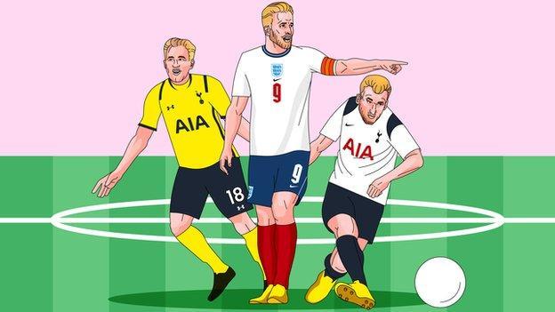 Harry Kane illustration