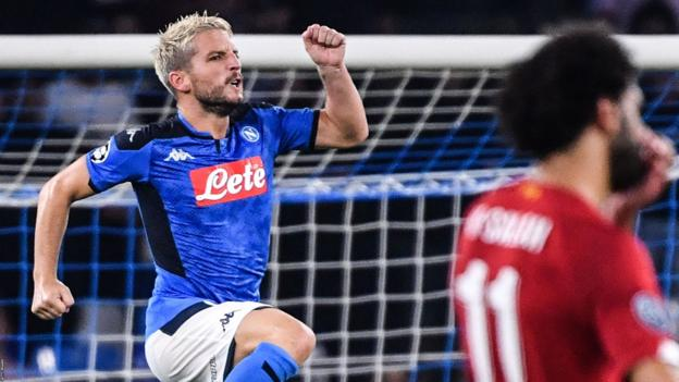 Napoli 2-0 Liverpool: Two late goals condemn Reds to defeat in Naples thumbnail