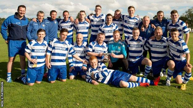 Newtonmore lifted the Strathdearn Cup in Inverness