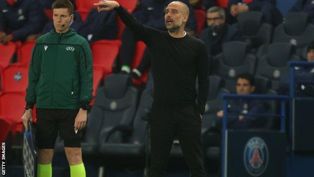 Manchester City boss Pep Guardiola