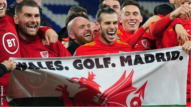Wales. Golf. Madrid