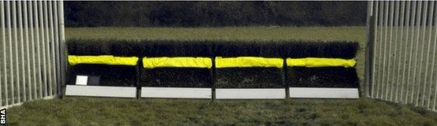 The BHA has decided to trial a yellow framework with white take-off boards