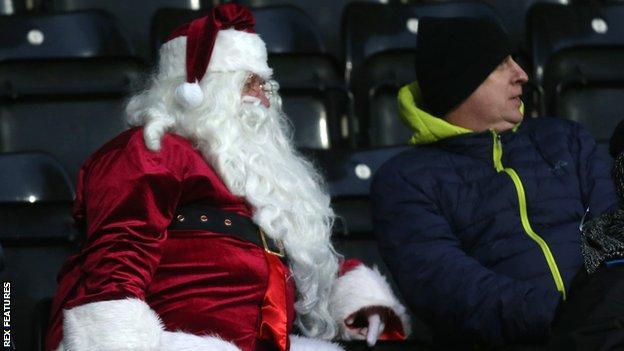 Notts County Santa fan