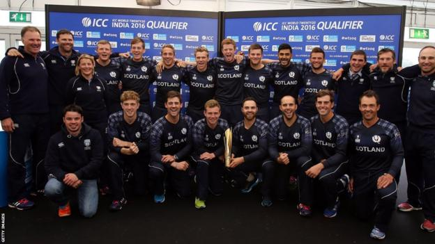 Scotland's cricketers
