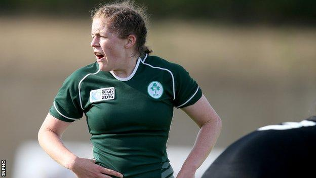 Fiona Coghlan captained Ireland to the 2013 Grand Slam