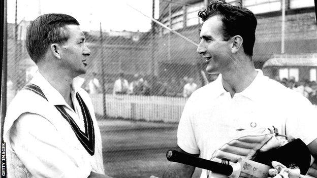 Richie Bennett og Ted Dexter