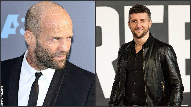 Jason Statham and Car Froch