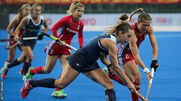 Great Britain v Australia at the 2018 Champions Trophy