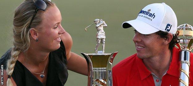 McIlroy broke off his engagement to tennis player Caroline Wozniacki in 2014