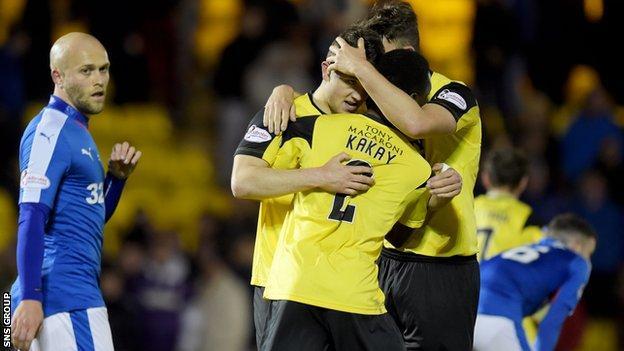 Livingston beat Rangers 1-0 on Tuesday