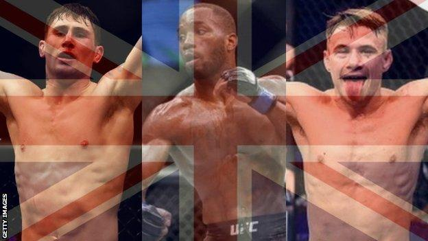 Darren Till, Leon Edwards and Nathaniel Wood