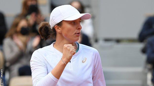 French Open champion Iga Swiatek