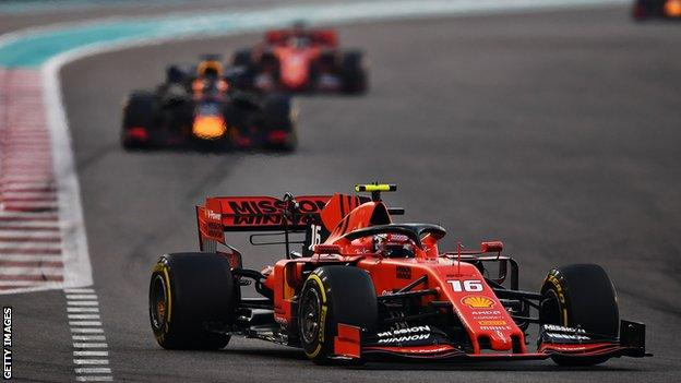 Leclerc and Verstappen