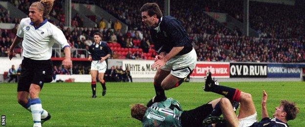 Brian McClair won 30 caps for Scotland