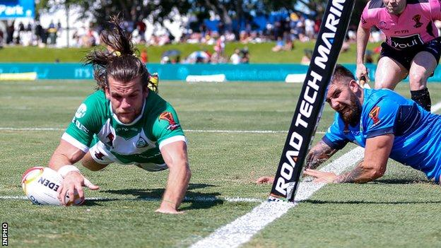 Rugby League World Cup Ireland Unchanged For Png Encounter Bbc Sport