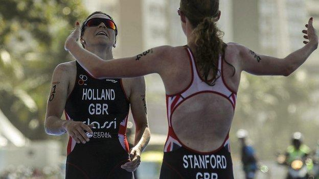 Non Stanford and Vicky Holland