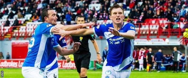 Liam Craig (right)