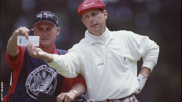 Payne Stewart and Mike Hicks